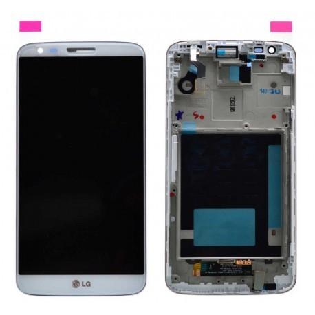 D802 Γνήσια Οθόνη και touch LG G2 Άσπρη, ACQ87040902