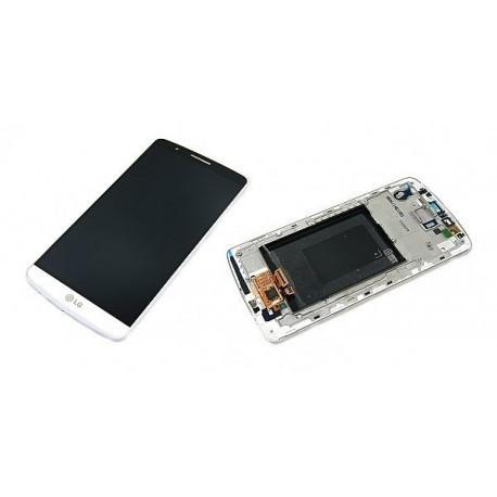 D855 Γνήσια οθόνη και Touch LG G3 Άσπρη, ACQ87190301