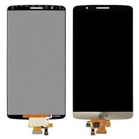 D855 Γνήσια οθόνη και Touch LG G3 Χρυσή, ACQ87190303
