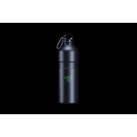 Razer HYDRATOR Black 750ml Recyclable Aluminum Water Bottle
