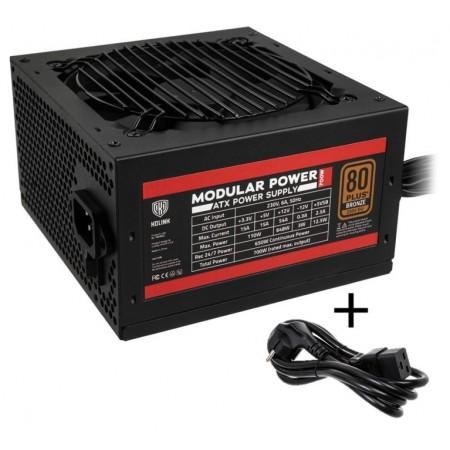 Kolink Modular Power 80 PLUS Bronze PSU 700 Watt PC Power Supply - With Cable