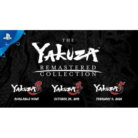 YAKUZA REMASTERED EDITION PS4