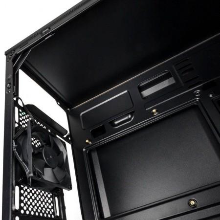 Kolink Inspire K1 RGB Midi-Tower, Tempered Glass Front - PC Case - black