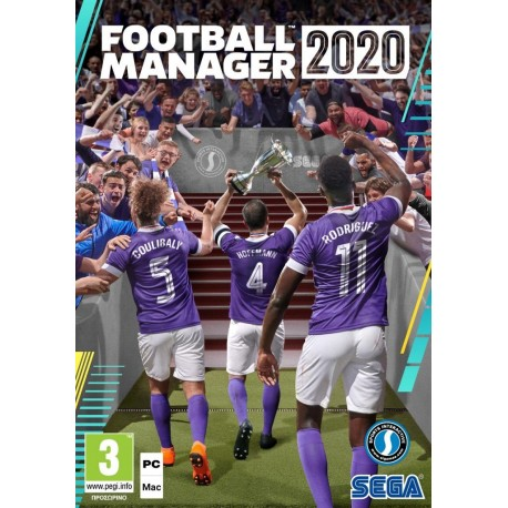 FOOTBALL MANAGER 2020 GR PC