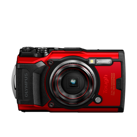 Olympus TG-6 Red Tough Camera