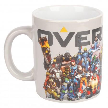 Jinx Overwatch Heroes Collide Ceramic Mug