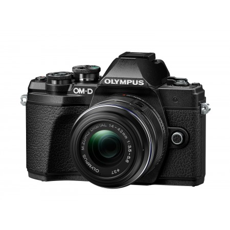 OLYMPUS E-M10 III Black  + M1442 II R KIT Black V207071BE000
